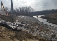Missouri River Slope Repair